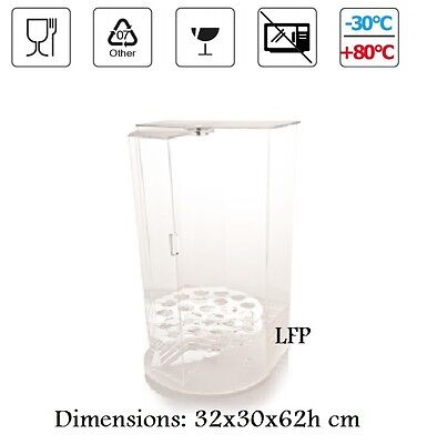 Ice Cream Cone Holder High Quality Acrylic Counter Display Made In Italy