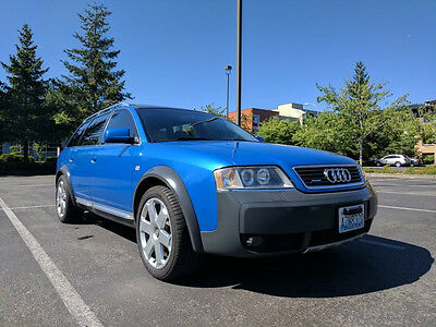 2002 Audi Allroad Olympic Blue 6 Speed Stage 2 2002 Audi Allroad Olympic Blue 6 speed Stage 2