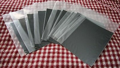 12 Wet Plate Collodion Tintype Plates (4x5 inch size)