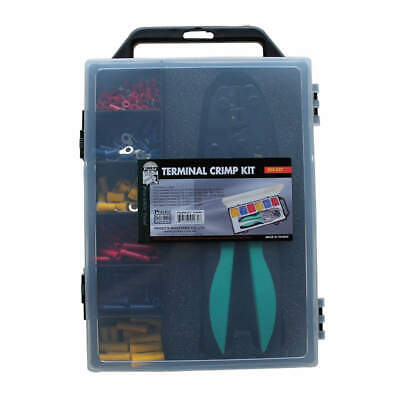 ECLIPSE Wire Termnl Kit,With Crimp Tool,176 pcs., 500-037