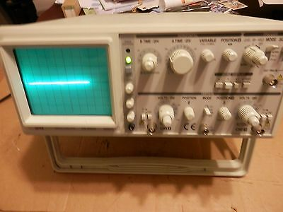 EZ OS-5060A Dual Channel 60 MHz Oscilloscope Working Pull