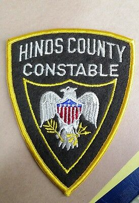 Hinds County, Mississippi Constable Sheriff (Police) Shoulder Patch Ms