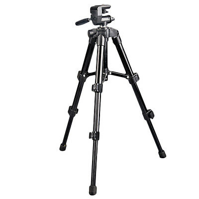 Portable Aluminum Tripod Stand No Bag Fit For Canon Nikon Camera Photo Camcorder