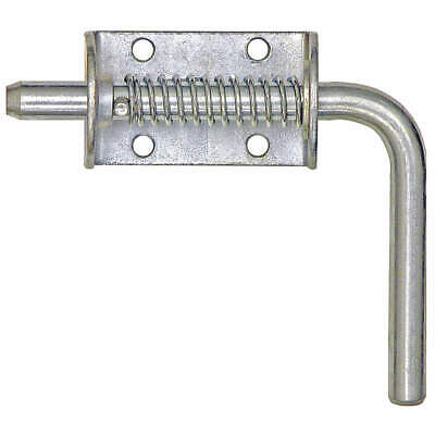 BUYERS PRODUCTS Zinc Plated Spring Latch Assembly,1/2 In,Zinc, 3ULU5, Plain