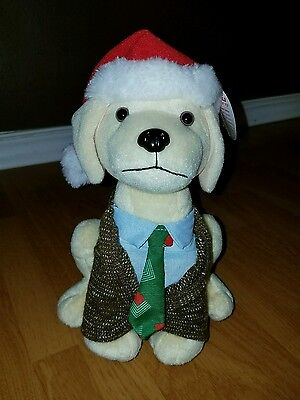CLARK GRISWOLD Raising Canes Chicken Puppy Dog Plush 2014 Holiday Edition CUTE!!
