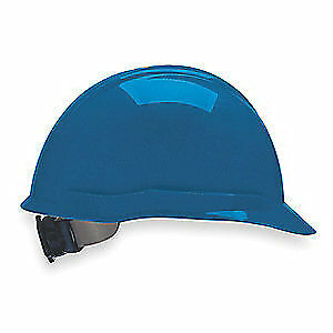 MSA Hard Hat,C, E,Blue,4 pt. Ratchet, 804946, Blue
