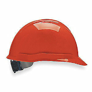MSA Hard Hat,C, E,Red,4 pt. Ratchet, 804944, Red
