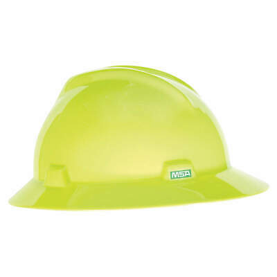 M Hard Hat,C, E,Hi-Visibility Yellow/Green, 10061515, Hi-Visibility Yellow/Green