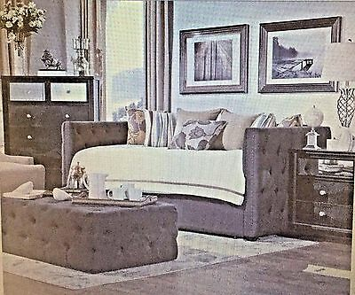 Daybed Tufted Nailhead Daybed and Trundle