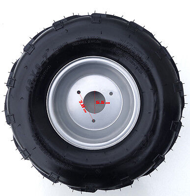 "7"" 16x8.00-7 Tyre Tire Wheel Rim 70/90/110/125/150cc ATV Quad Bike Buggy Go Kart"
