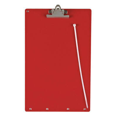 BRADY Lockout Clipboard,Red, LOCB, Red