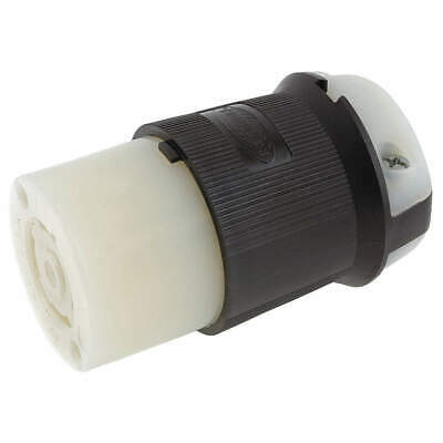 HUBBELL WIRING DEVICE-KELL Nylon Connector,600VAC,30A,L17-30R,3P,4W,3PH, HBL2743