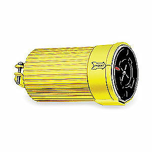 HUB Steel Cover/Polycarbonate Cover Locking Connector,600VAC,60A,3P,4W, HBL26418