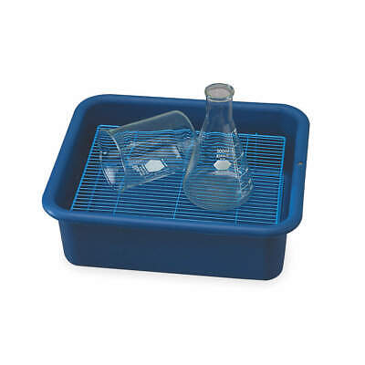 SP SCI Polypropylene Laboratory Tray,4-3/4 In. H,14-3/8 In. D, F24676-0003, Blue