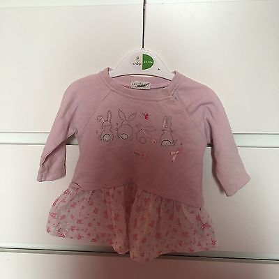0-3 Month Girls Top