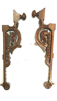 Vintage Corbels Brackets Mantels Fireplace Entryway Shelves