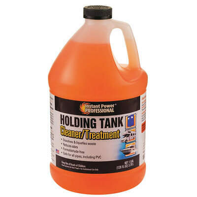 INSTANT POWER Holding Tank Cleaner/Treatment,1 gal., 8871, Orange