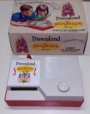 1960s Disneyland Edition PlayTape 1100 With Box in Excellent Condition