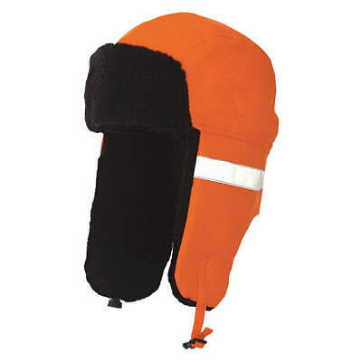 TOUGH DUCK Polyester Hi-Vis Hat,Orange,23 in., I15516, Orange