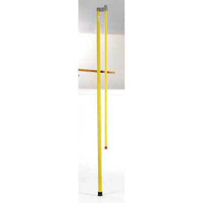 B/A PRODUCTS  Fiberglass Measuring Stick,Fbrglss,70 In to 180 In, BA-MS4, Yellow