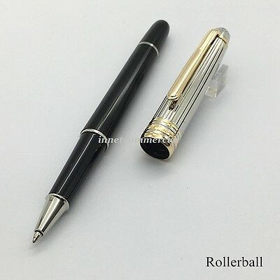 Luxury M Pen With Serial Number Black Barrel Rollerball