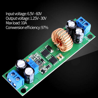 10A DC-DC 6.5V-60V to 3V 12V 24V Step Down Voltage Regulated Power Converter ark