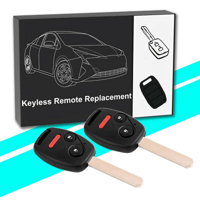 2 Replacement Remote Key Fob for Honda Odyssey Ridgeline Fit oucg8d-380h-a US