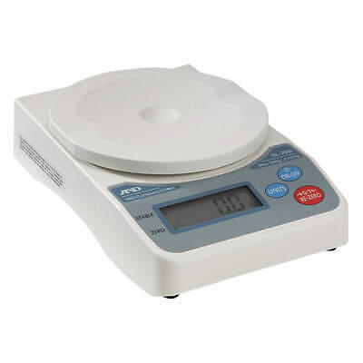 A&D WEIGHING Compact Digital Scale,SS Pltfrm,2000gCap, HL-2000I