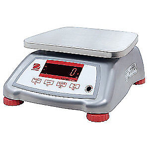 OHAUS Food Prcssng Scale,SS,0.001kg/0.002 lb., V22XWE3T