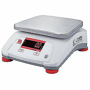 OHAUS Food Processing Scale,0.0005kg/0.001 lb., V22PWE15T