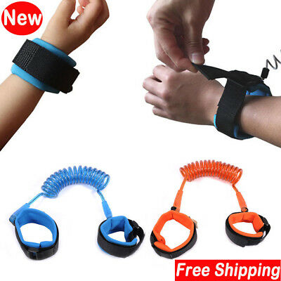Toddler Kid Baby Safety Walking Harness Rope Strap Wrist Belt Anti-lost HandRein