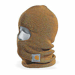 CARHARTT Acrylic Face Mask,Brown,Universal, A161-BRN  OFA, Brown
