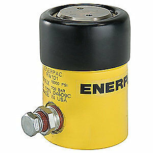 ENERPAC Universal Cylinder,10 tons,1in. Stroke L, RW101