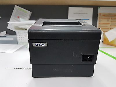 Epson TM -88IV Thermal Receipt Printer Tested Working Power Supply Include