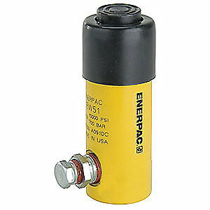 ENERPAC Universal Cylinder,5 tons,1in. Stroke L, RW51