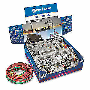 MILLER ELECTRIC Gas Welding Outfit,40-175-540,40-15-510, HBA-40510