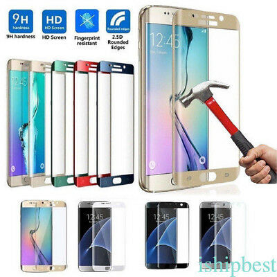 3D Curved Tempered Glass Screen Protector For Samsung Galaxy S7/ S8/ S6Edge Plus