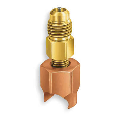 "JB INDUSTRIES Copper Line Piercing Saddle Valve,3/4"" OD,PK2, A32912"