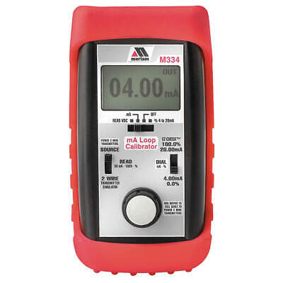 MERIAM Process Calibrator,Current,0 to 24 mA DC, M334