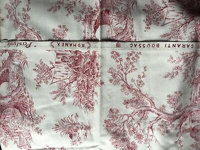 """Vintage French Fabric """"Pastorale"""""""