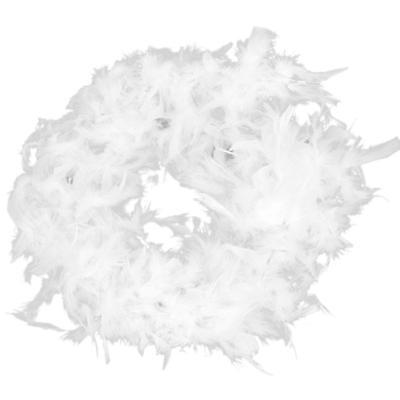 6.6 Feet Long Marabou Feather Boa For Fancy Dress Party Burlesque Boas White