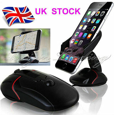 Universal 360° in Car Windscreen Dashboard Holder Mount For GPS Mobile Phone GPS