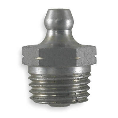 KINGFISHER Grease Fitting,Str,1/4-18,PK10, 2PA89
