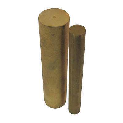 BUNTING BEARINGS Powdered Bronze Solid Bar,Pwdr Bronze,Unfnsh OD 2 In, ES0016