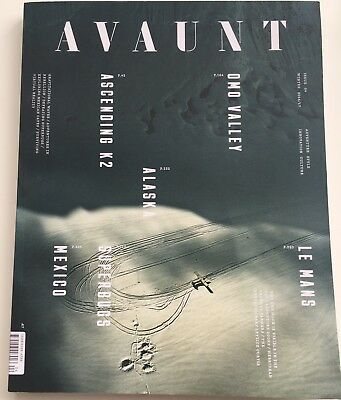 UK Edition AVAUNT Magazine #4 - Winter 2016/17 -Moon, Mexico, Superbugs, Alaska