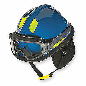 CAIRNS Fire and Rescue Helmet,Blue,Modern, C-MOD-B3B2A7200, Blue