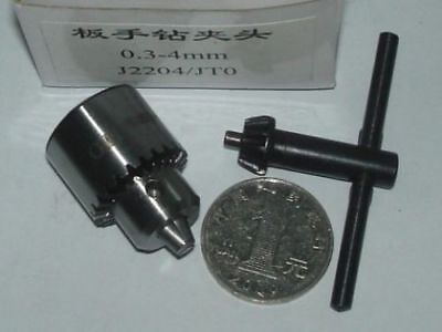 0.3mm ~ 4mm Mount JT0  Drill Chuck Inner Hole Diameter 6mm J2204