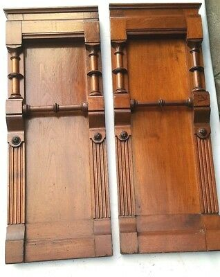 Antique Columns Post Fireplace Mantles Mantels Panels Victorian Accent Pieces