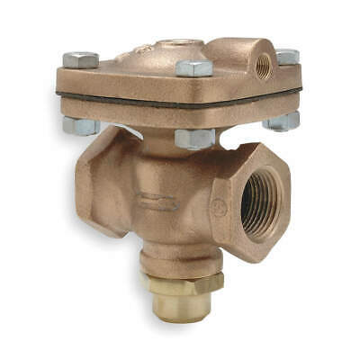 CASH VALVE Air Operated Valve,2-Way,NC,1/2 In,FNPT, D-53