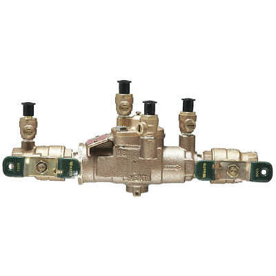 WATTS Reduced Pressure Zone Backflow Preventer, 3/4 LF009M3-QT
